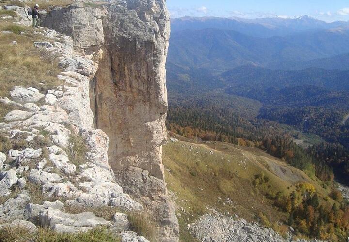 В Лагонаки туристы нашли тело альпиниста