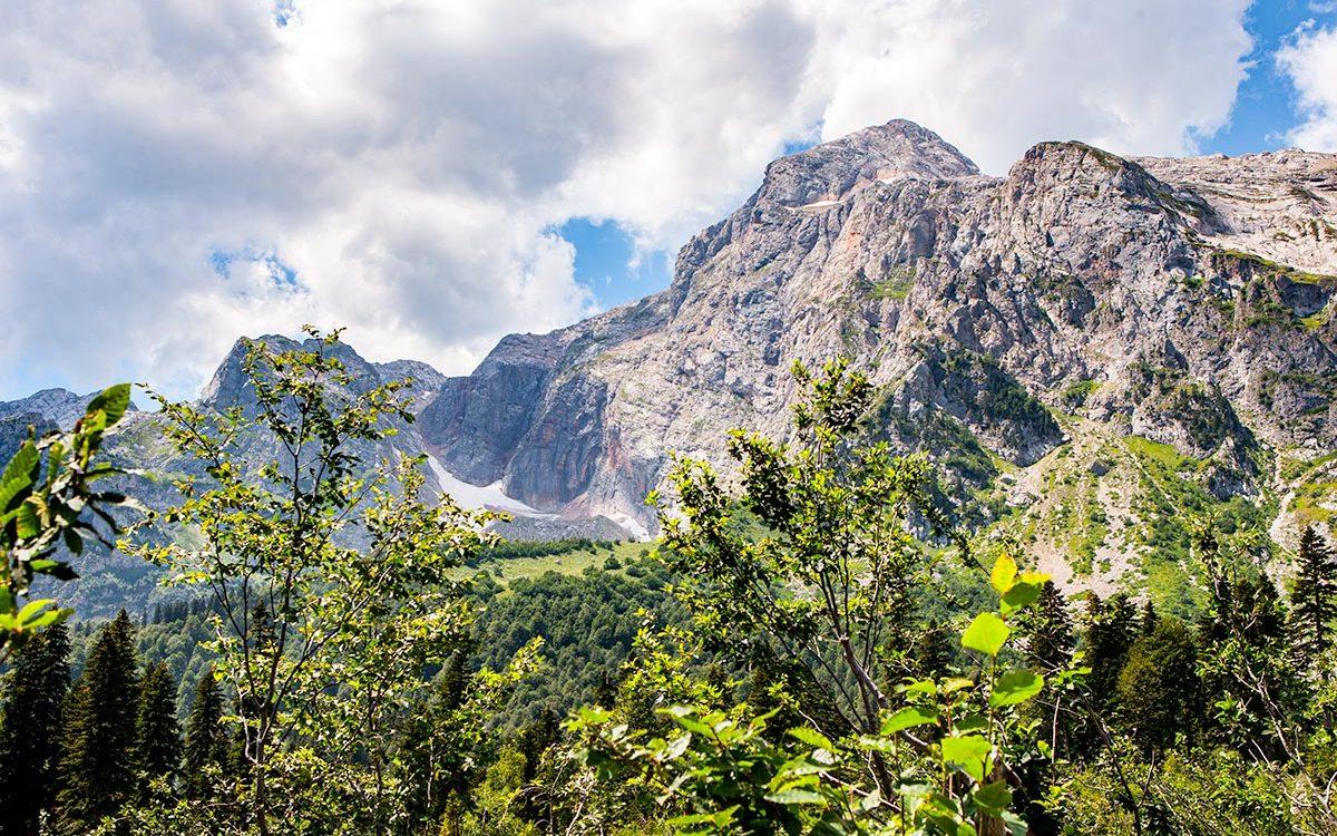 Собираясь в горы — посмотрите погоду
